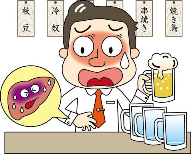 アルコールと中性脂肪と肝臓