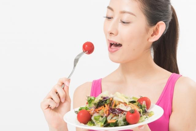 炭水化物の前に「野菜」を食べる